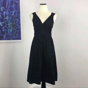 Marc Jacobs Surplice Floral Embossed Dress